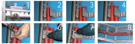 Smart Cleats Oglaend Trefoil Cable Clamps