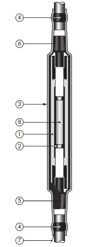 nexans cold shrink cable joints  hv joints  nexans joints  11kv 33kv elastimold joints xlpe epr cabl