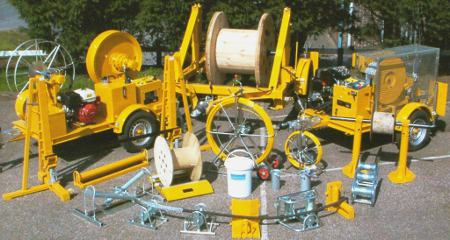 The Equipment Required For Open Trench Cable Laying