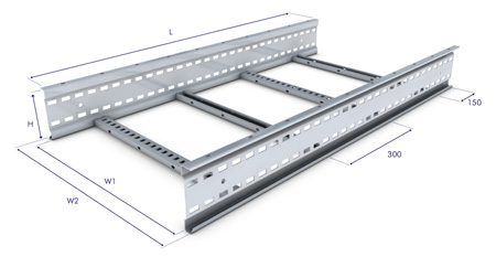 Vantrunk SW6 Speedway Cable Ladder