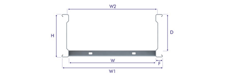 Speedway SW6 Cable Ladder Dimensions
