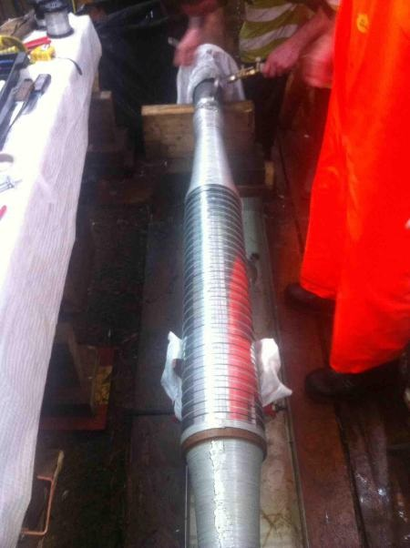 275kv Fluid Filled Straight Cable Joints