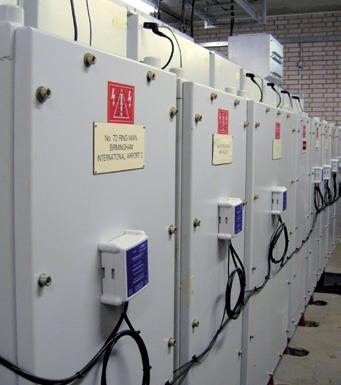 Example of a continuous online monitoring system for partial discharge in MV switchgear