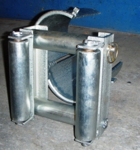 Steel Bellmouths With Cable Rollers For Faster Cable