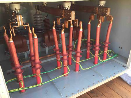 33kv Raychem Heat Shrink Cable Terminations Single Core