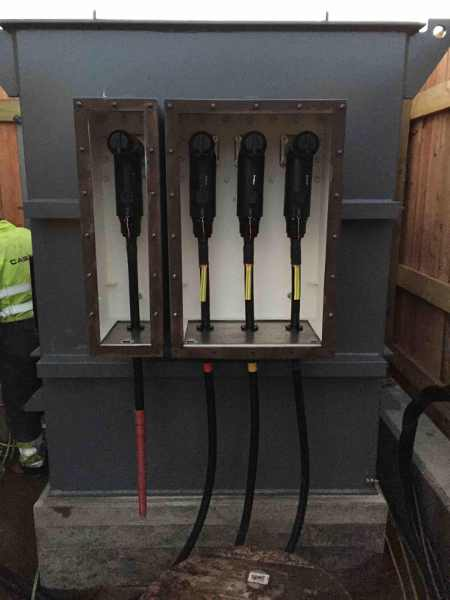 Cooper Connectors Terminating 33kv Cable Onto Interface E