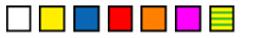 Silver Fox Fox-Flo LCLZ1-5015T Colours