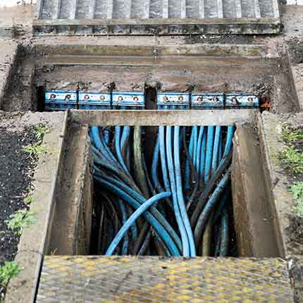 Sealing Cables In Substations Using Roxtec Cable Transit