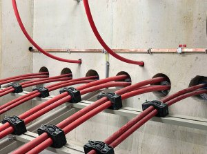 Roxtec Cable Sealing Solutions For Continuous Power Supply