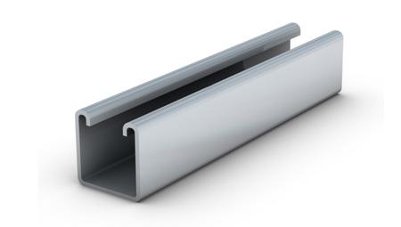 Vantrunk Steel Intelok Deep Channel Plain