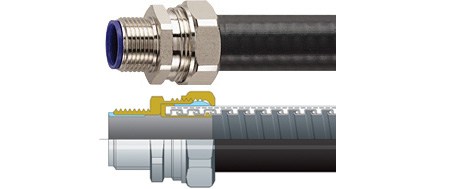 Flexicon Overbraided Conduits
