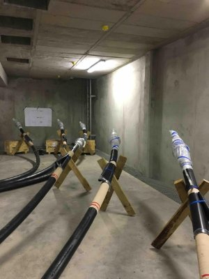 132kv Tyco Electronics Dry Type Plug In Switchgear Cable