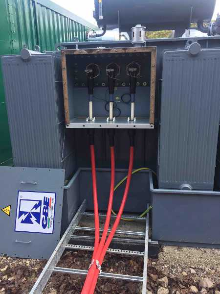 33kv Euromold Connectors Terminating Mv Xlpe Cables Onto