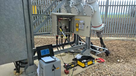 132kv Cable Sheath Testing With Pfisterer Gis Terminations
