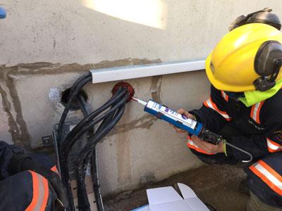 Sealing Substation Cables 33kv Single Core Trefoil