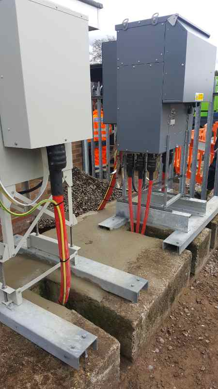 11kv Cables Jointed Terminated Amp Earthed Into Midel