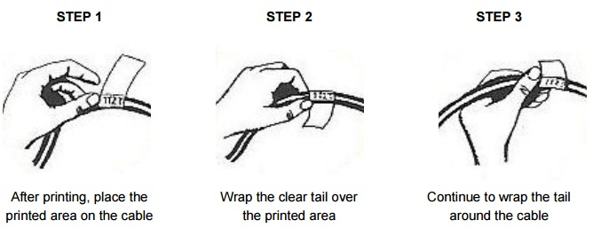 How To Apply Thermal Cable Lables