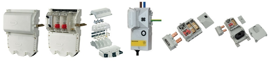 STREET LIGHTING CUT-OUTS, LUCY CUT-OUTS, TROJAN ISOLATORS, LUCY