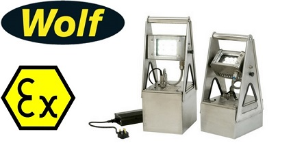 Wolf ATEX Worklite Floodlights � Zone 1, 2, 21 & 22 Hazardous Area Floodlight