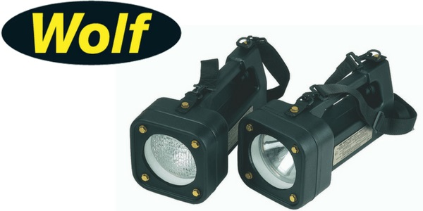 Wolf Toplite T3 Searchlight (Zone 1 & Zone 2 Hazardous Areas)