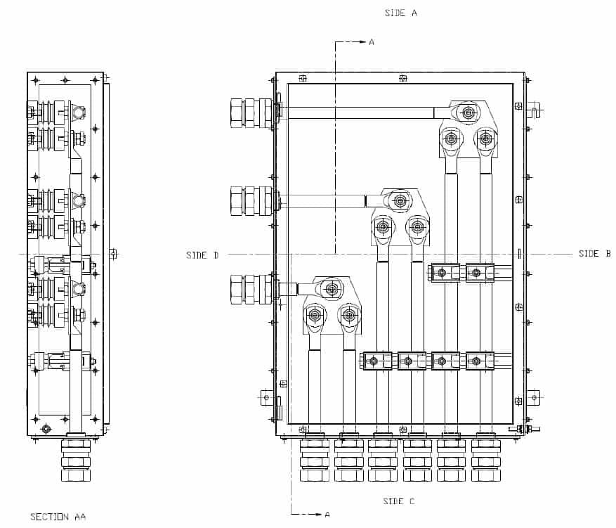 abtech lr  high voltage 3 3kv enclosures  stainless steel ip66  enclosures  shell era deluge
