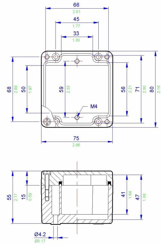 abtech bpg1 hazardous area enclosure junction box zone 1