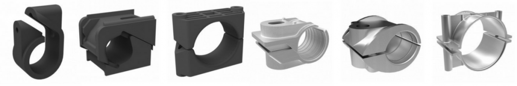 Single Way Cable Cleats