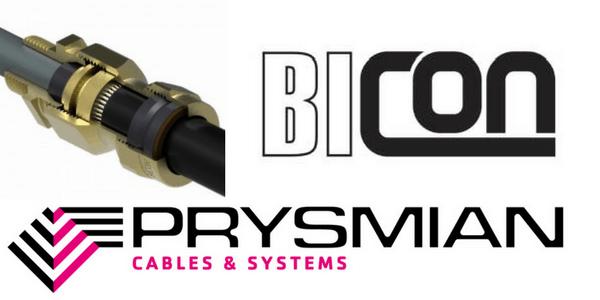 E1w Lsf Bicon Cable Glands Bicc Glands Prysmian Glands