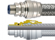 LTPBRD Flexicon Flexible Conduits Galvanised Steel, Rubber Coated, SS316 Overbraid Conduit